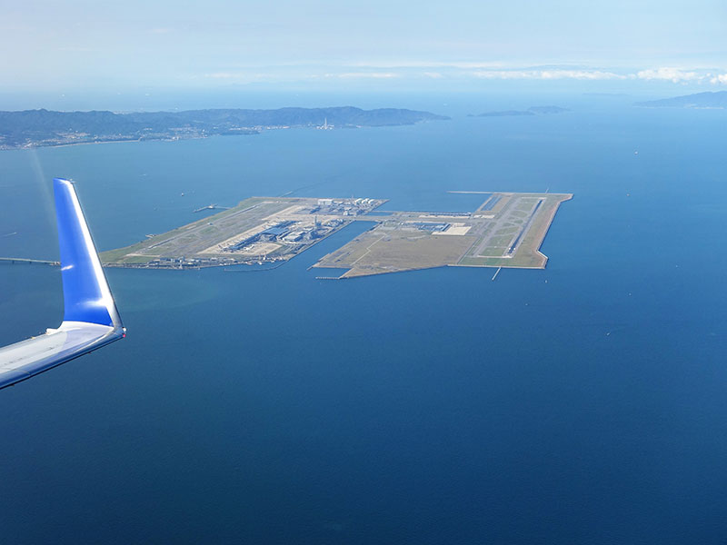 Kansai - siêu sân bay 20 tỷ USD giữa biển ở Nhật Bản